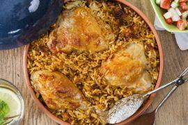 תבשיל אורז ועוף בסיר אחד