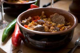 פאייה ספרדית עם עוף ובשר