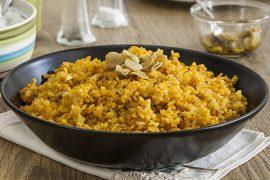 קיצ'רי: תבשיל עיראקי של אורז ועדשים כתומות