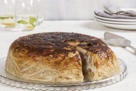 עוגת כרוב במילוי אורז ובשר