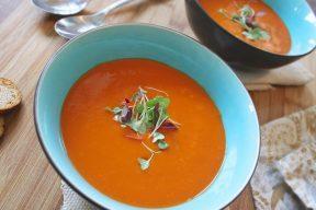 מרק עגבניות חריף