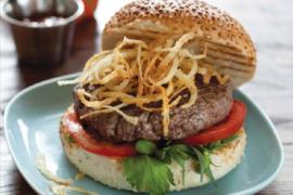 המבורגר בקר - מתכון קלאסי
