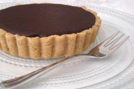 טארט שוקולד מושחת ואלוהי