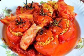עגבניות במילוי פתיתים