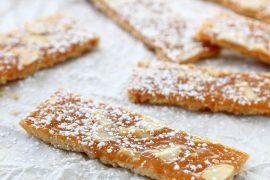 עוגיות קרמל ושקדים חגיגיות לפסח