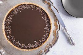 פאי שוקולד קפה
