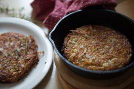 רושטי: לביבת תפוחי אדמה שוויצרית