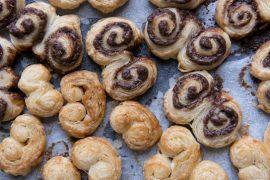 עוגיות אוזן מתוקות ומלוחות