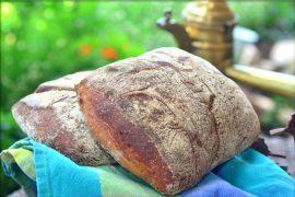 לחם מלא פריך