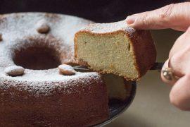 עוגת מרציפן קלה להכנה