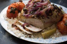 חזה עוף עסיסי בתנור