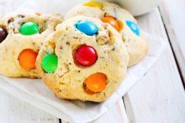 עוגיות לילדים עם עדשים צבעוניות