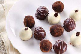 פטיפורים ממזריים של שוקולד