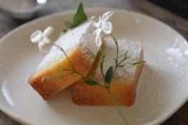 עוגה בחושה של פולנטה ולימון