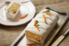 בצק סוכר: עוגת גזר מעוצבת