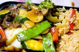 עוף עם אורז בנוסח תאילנדי