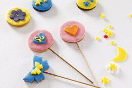 עוגיות מעוצבות עם בצק סוכר