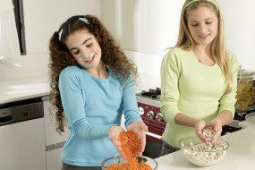 עצמאים בשטח: הילדים נכנסים למטבח