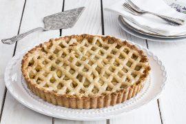 טארט קלאסי של תפוחי עץ