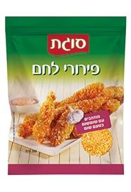 פירורי לחם מוזהבים עם שומשום בטעם שום