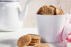 עוגיות קינמון פריכות