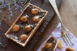 פאי קרמל עם אגוזים ושוקולד צ'יפס