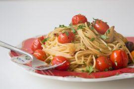 ספגטי עגבניות שרי