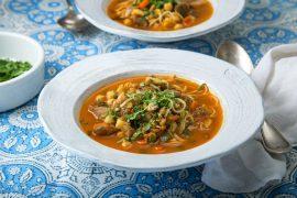 מרק חרירה מרוקאי עם אטריות