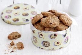 עוגיות גרנולה עם קוקוס וקפה
