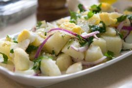 סלט תפוחי אדמה בסגנון ספרדי