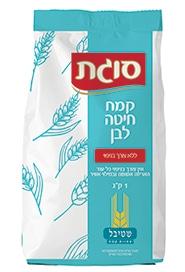 קמח חיטה לבן ללא צורך בניפוי