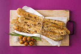 פלוטים: מקלות לחם עם קמח קסם