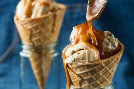 גלידת קפה ושוקולד צ'יפס