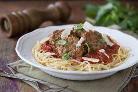 ספגטי עם קציצות עיג'ה