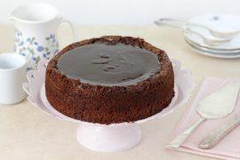 עוגת שוקולד ושקדים ללא גלוטן