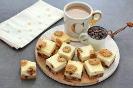 חטיפי עוגת גבינה ועוגיות שוקולד צ'יפס