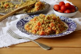 תבשיל מהיר של קינואה וגזר