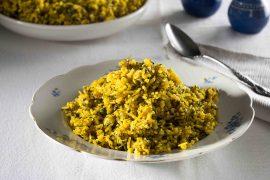 אורז מחשי חגיגי עם עוף ועשבי תיבול