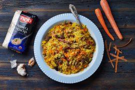 תבשיל אורז, סינטה ופרגית בסגנון אושפלאו