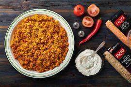 קיצ'רי של אורז בסמטי מלא ועדשים כתומות