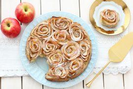 שושני תפוחים ובצק עלים מ-5 רכיבים
