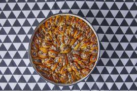 משמשים מיובשים במילוי אורז ובשר