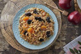 טנזיה של אורז פרסי ופירות יבשים