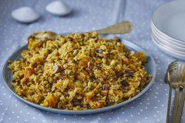 אורז חגיגי עם 10 הפתעות טעימות