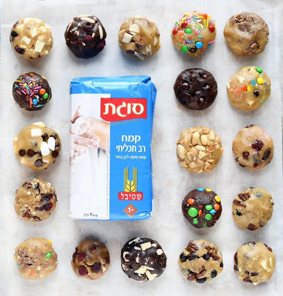 המון סוגי עוגיות מאותו בצק פשוט