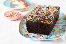 עוגת שוקולד טעימה ליום הולדת