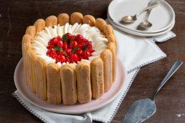 עוגת שרלוט ב-10 דקות