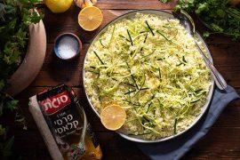 אורז זוקיני לימוני מ-5 רכיבים
