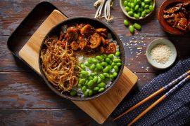 בודהה בול של אורז, פטריות ואדממה