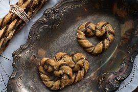 עוגיות לב שוקולד מבצק פילאס